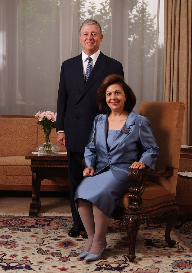 HRH Crown Prince Alexander and HRH Crown Princess Katherine
