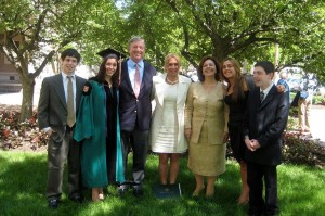 Mr Nicolas Garfinkel, Miss Stephanie Garfinkel, HRH Crown Prince Alexander, Mrs Alison Andrews, HRH Crown Princess Katherine, Miss Amanda Garfinkel and Mr Michael Garfinkel