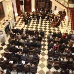 Concert of the Royal St George Strings orchestra at the White Palace