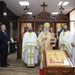 His Holiness Patriarch Irinej of Serbia address during the Holy Liturgy