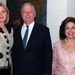 Mrs Dragica Nikolic, First Lady of Serbia, HRH Crown Prince Alexander II and HRH Crown Princess Katherine
