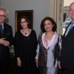 HE Mr Ivan Tasovac, Minister of culture and information, Ms Bojana Boric – Breskovic, director of the National museum, TRH Crown Princess Katehrine and Crown Prince Alexander II