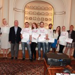 HRH Crown Prince Alexander II with best teams of the Second Belgrade Startup Weekend