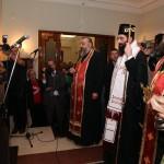 Njegovo Preosveštenstvo Vladika Arsenije vikarni episkop Patrijarha Srpskog G. Irineja osveštao je bistu Kralja Aleksandra