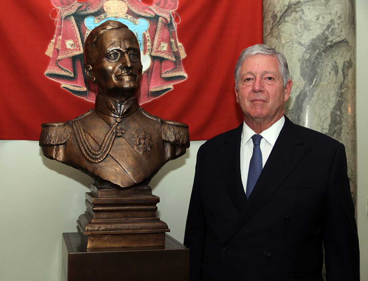 Sensational Crown Prince And Russian Ambassador Unveil The Bust Of Hm Download Free Architecture Designs Scobabritishbridgeorg