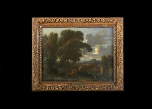 Landscape with Ruins, Sebastian Bourdon, 17ct