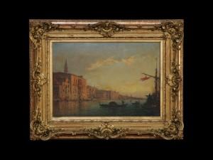 Канал Гранде у Венецији, Феликс Зим, 19.век