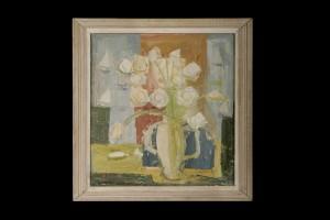 Ваза са цвећем , Предраг Пеђа Милосављевић, 1955