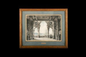 Loggia of an Imaginary Palace, Jean Louis Desprez, 18ct