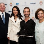 Crown Prince Alexander and Crown Princess Katherine with Mr Nik Vujicic