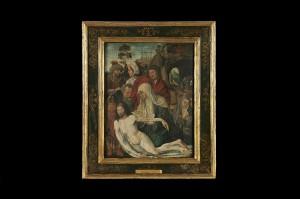 Скидање са крста, Непознати фламански уметник, 15. век