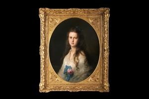 Портрет Марије Александровне, Франц Ксавер Винтерхалтер, 1872.
