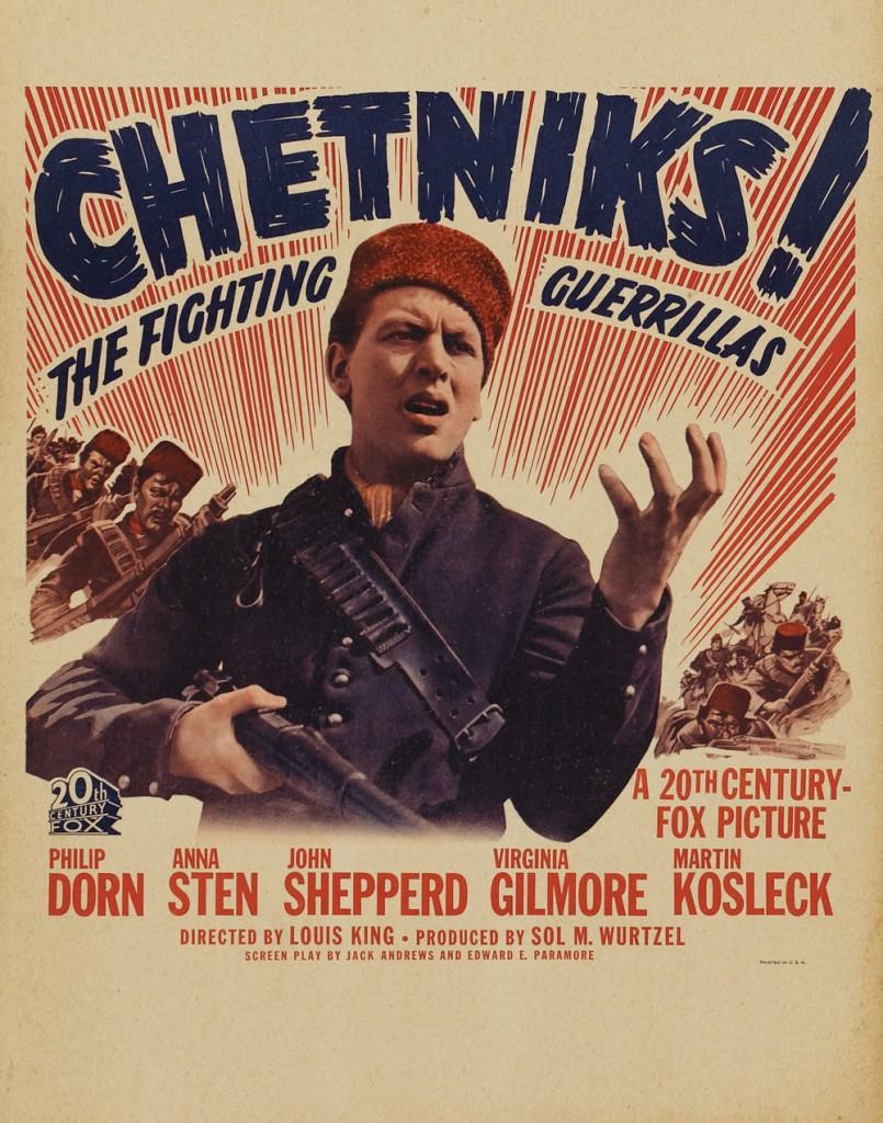 0019 170, chetniks - plakat