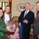 Their Royal Highnesses Crown Prince Alexander and Crown Princess Katherine with Dr Robert M. Friedlander, Chairman of the Department of Neurosurgery UPMC and his wife Eugenia