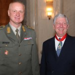 Brigadier General Milomir Todorovic, the Commander of the Guard of the Army of Serbia and HRH Crown Prince Alexander