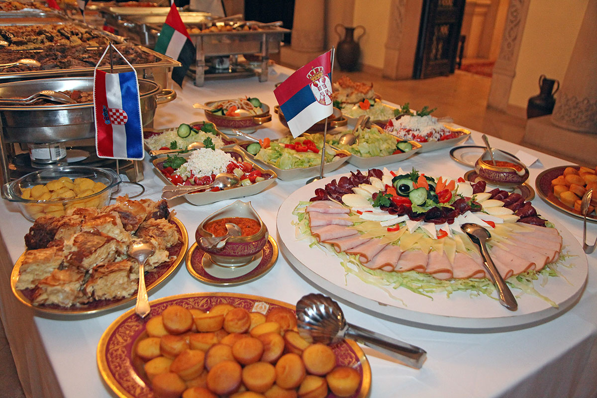 Royal couple hosted international cuisine dinner at the for Ahmad s persian cuisine