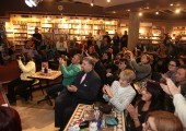 An atmosphere at the book launch