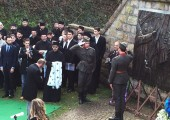 Mr Predrag Markovic, member of the Crown Council on behalf of Crown Prince Alexander laid a wreath at monument to Heroes of the First Serbian Uprising in Maricevica gully in Orasac