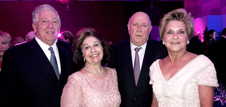 Njihova Kraljevska Visočanstva sa bivšim predsednikom De Klerkom