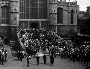 The funeral of HM King Edward VII, 20 May 1910