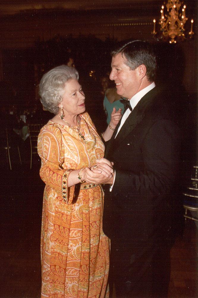 Celebration of HRH Crown Prince Alexander's 50th birthday, London, 17 July 1995