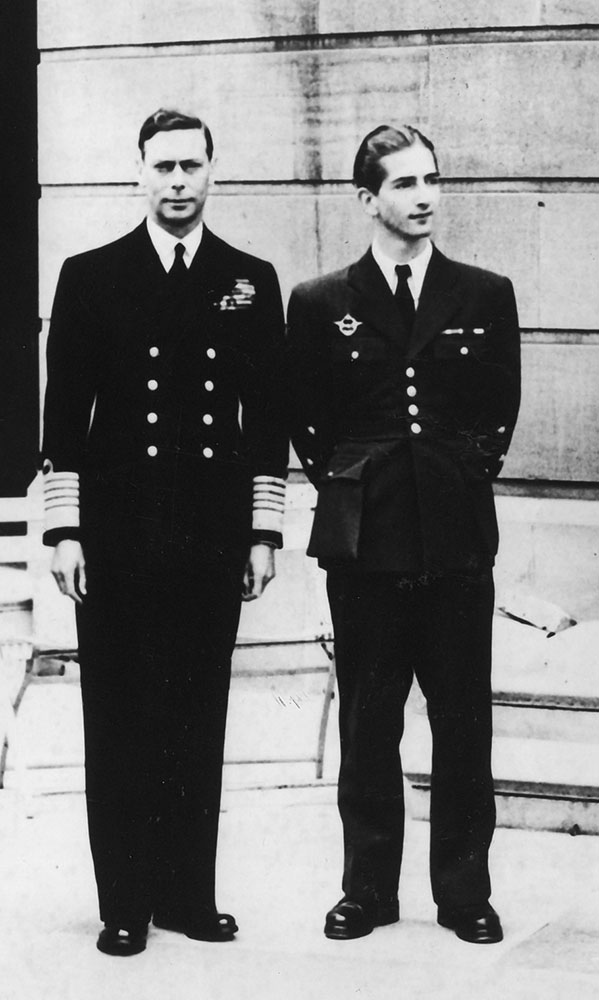 King George VI and King Peter II, London, 1942