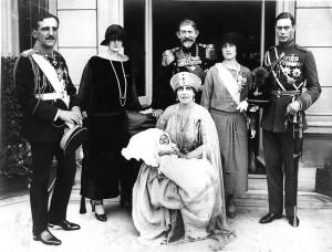 Baptism of HRH Crown Prince Peter, 21 October 1923