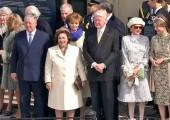 Prestolonaslednik Aleksandar, Princeza Katarina, predsednik Islanda g-din Olafur Ragnar Grimson sa suprugom, Prestolonaslednica Margareta od Rumunije