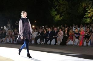 Roksanda Ilincic humanitarian Fashion show at the White Palace