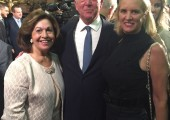 Their Royal Highnesses and Kerry Kennedy, daughter of Robert F. Kennedy and Ethel Skakel Kennedy