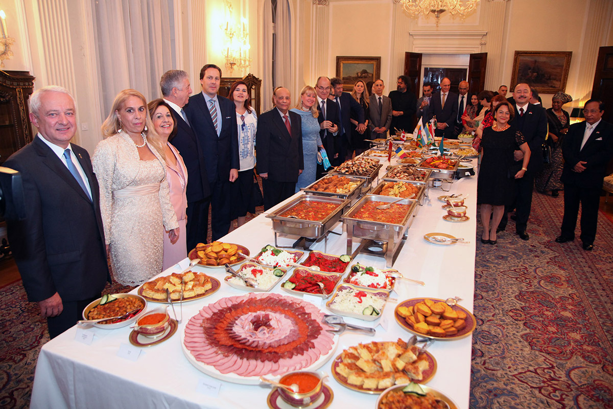International Cuisine Night At The White Palace The