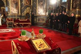 Божићна литургија у Саборној цркви