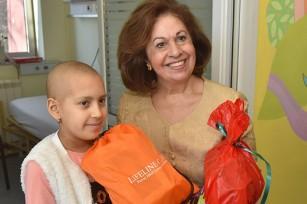 Принцеза Катарина у хуманитарној посети дечијим болницама