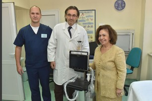 Принцеза Катарила уручила ултразвучни апарат Институту за мајку и дете