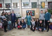 "HRH Crown Princess Katherine in the visit to the Home for children without parental care ""Rada Vranjesevic"""