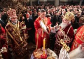 Holy Liturgy in the Cathedral temple of Christ the Savior in Banja Luka