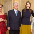 TRH Crown Prince Alexander and Crown Princess Katherine with TRH's daughter Alison and Roksanda Ilincic