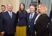 - HRH Crown Prince Alexander, Roksanda Ilincic, Sir Paul Judge and Jadranka Dervisevic-Kitarevic