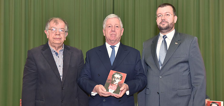 Dr. Nenad Kecmanovic, HRH Crown Prince Alexander and Dr. Cedomir Antic