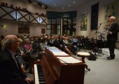 Humanitarian concert at Fairfield Evangelical church in Northwood Hills