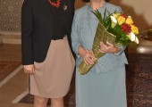 Maja Gojkovic, Speaker of the Parliament of Serbia and HRH Crown Princess Katherine