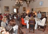 Ladies lunch at the Royal palace
