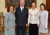 HRH Crown Princess Katherine and Crown Prince Alexander, Mirjana Marjanovic, soprano and Jovana Radovanovic, pianist