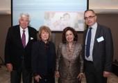 Dr. Daniel Megler, Ardis J. Gardella, HRH Crown Princess Katherine and Prof. Dr. Nenad Arsovic