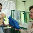 HRH Crown Princess Katherine in Easter visit of Belgrade children's hospitals