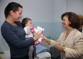 HRH Crown Princess Katherine in Easter visit of Belgrade children's hospitals