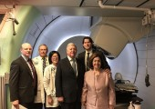 Their Royal Highnesses at the Proton Therapy Center