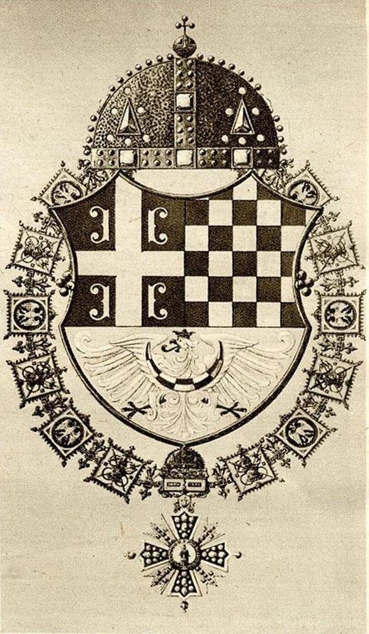 Modern Heraldry Of The House Of Karadjordje The Royal Family Of Serbia