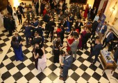 Spring students' ball at the White Palace