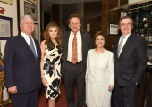 HRH Crown Prince Alexander, Cheri Kaufman, Dr. Douglas Jackson, HRH Crown Princess Katherine, Bill Sclight